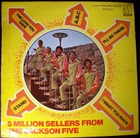 Cover Jackson 5 - 5 Million Sellers From The Jackson Five [EP]
